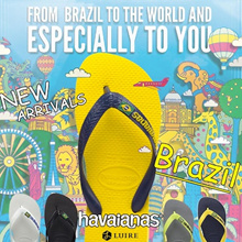 ★ No.1 HAVAIANAS SHOP ★ [Havaianas] New arrivals ! Brazil flip flop. 100% Authentic