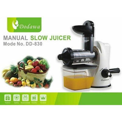 Gdl Manual Slow Juicer : Qoo10 - Inovasi Baru! DODAWA Manual Slow Juicer DD-830 (Non-Elektrik) : Kitchen & Dining