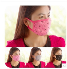 Home home winter lovely bow fashion lovers cycling masks masks double cotton warm K4050