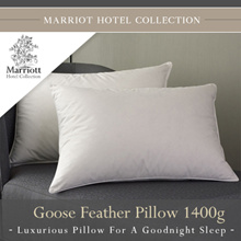 Marriott Hotel Collection Goose Feather Pillow 1400g