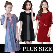 High quality dress/black dress/plus size dress S-5XL