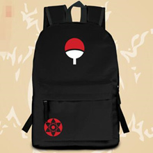 Uchiha Sasuke anime Naruto bag backpack adolescent students to canvas casual backpack