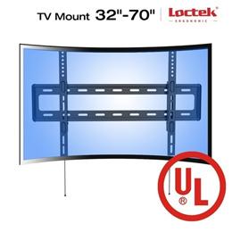 UHD HD HDTV Curved LCD LED TV Wall Mount Bracket 32 42 50 55 60 65 70 Loctek R1 (Size: R1・ Color: Bl