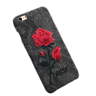huge selection of 146b9 6e843 Accessories Protection IPhone case Individual Phone Phone Rose IPhone  Embroidery Vintage Phone Lovel