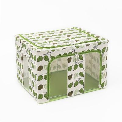 Dust Free Storage Box 66L Green Leaf