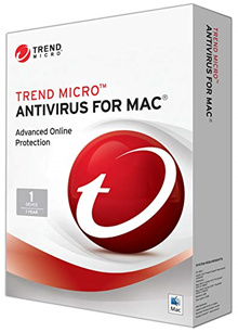 ♦ Trend  Micro 2018  Antivirus Software 1 Year 1 User For Mac( The Latest Version) ♦