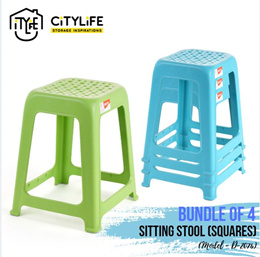 [BUNDLE OF 2] * Citylife Kids Chair with Backrest
