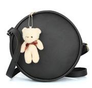 Round Sling with Teddy(Cream/Grey)