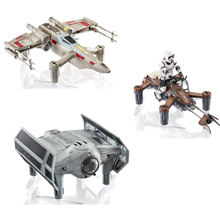 ★ Coupon price $ 75 ★ Star Wars Dron Figure Propel Star Wars X Wing / Tie Fighter / Speeder Bike / Collectors Edition /