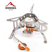 Picnic cassette stove     outdoor portable camping gas stove