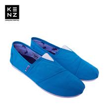 Sepatu Wanita Casual Slip-On | Kenz Sloppy Girl - Blue Tosca