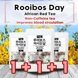 [DeoGlobal] African Red Tea/ Non-Caffein tea/ Improves blood circulation / Rooibos Tea /  10T+10T+10