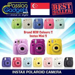 [Free Gifts]♥CHEAPEST♥Instax Mini 9 mini8 mini25 mini50s mini7s Instax Polaroid Camera mini 25 50