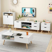 TV console wardrobe draweer 4 in 1 together only $249.