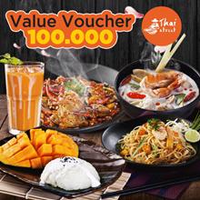 [FOOD] Value Voucher 100.000 /Thai Street