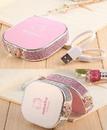 Cute Hello Kitty Power Bank 12000mAh Portable Powerbank Battery Hello Kitty 3DCartoon Design Charge