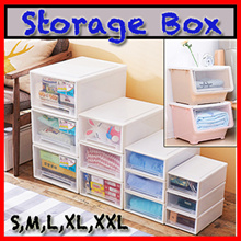 Storage Box/Storage Drawer/Stackable/Container Plastic/Home Organization Organise [Dear J]