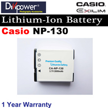 Casio NP-130 Lithium-ion Battery for Casio Exilim  Camera by Divipower