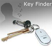 Whistle Key Finder Flashing Beeping Remote Lost Keyfinder Locator Keyring Handy  hanzhenhai123
