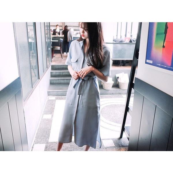 【送料無料】レディース ワンピース 2017 新作 半袖 シフォン カジュアル オシャレ ファッション