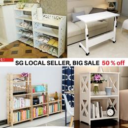 [SG Seller] Furniture shelves/cabinets/multi purpose desk/office/shoe racks organizers