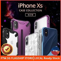iPhone Xs Max / Xs / Xr Full Protection Case Casing Cover Ringke X-Doria Fast Free Delivery