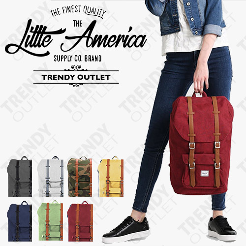 HOT SALE! FREE SHIPPING! FREE SHIPPING!Little America Backpack | | 17 and 25 Liter Deals for only Rp270.000 instead of Rp300.000