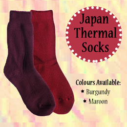 Ladies Popular Japan Thermal Socks / Woman Trendy Winter Socks / Female Fashionable Ankle Socks / High Quality Breathable Infra-red thermal fibre