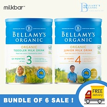 ❤️Bellamy❤️Cheapest in Singapore Organic Formula Milk Stage 2/3/4 100% Direct Courier from Australia