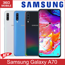 Samsung Galaxy A70 6.7inches Dual 32MP CameraAndroid 9.0 Super AMOLED 6GB Ram 128GB Rom / Export