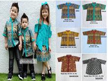 Welans Batik - Kebaya Anak - Kutu Baru - Koko Batik - Motif LP05