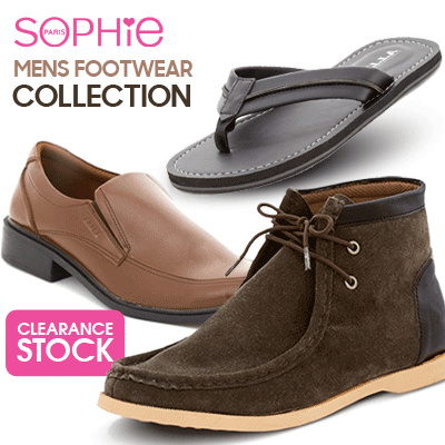 MENS FOOTWEAR COLLECTION Deals for only Rp65.900 instead of Rp65.900