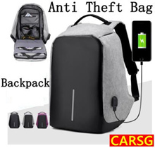 NEW Best Anti Theft backpack▶Travelling ▶Security▶Multi function▶Anti Cut▶waterproof USB Backpack