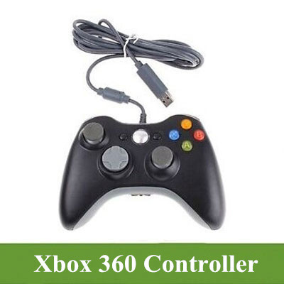 Xbox 360 PC Wired Game Controller - Windows compatible long USB lead