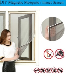 【Ready Stock】DIY PVC Magnetic Mosquito Screen / Insect Netting / Keep Out Flies bug lizard Cockroach