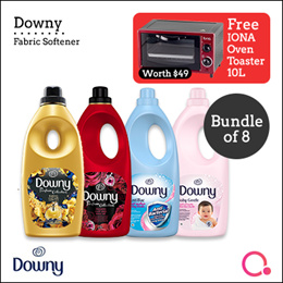 [PnG] [FREE IONA OVEN WORTH $49] Bundle of 8 Downy Liquid Concentrate Fabric Bottles 1.8L