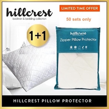 [Buy 1 Free 1} BEST SELLING !! HillCrest Pillow Protector Anti dustmite water absorbent