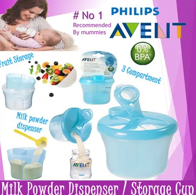 Cups, Dishes & Utensils Avent Milk Powder/formula Dispenser Baby/child Bottle Feeding Accessory Bn