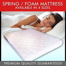 8 Inch Queen Mattress Clearance Sale ( 4 / 6 / 8 Inch ALL Sizes Available)