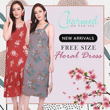 ❤️ Floral Free Size Dresses N Jumpsuits  ❤️ New Arrival ❤️