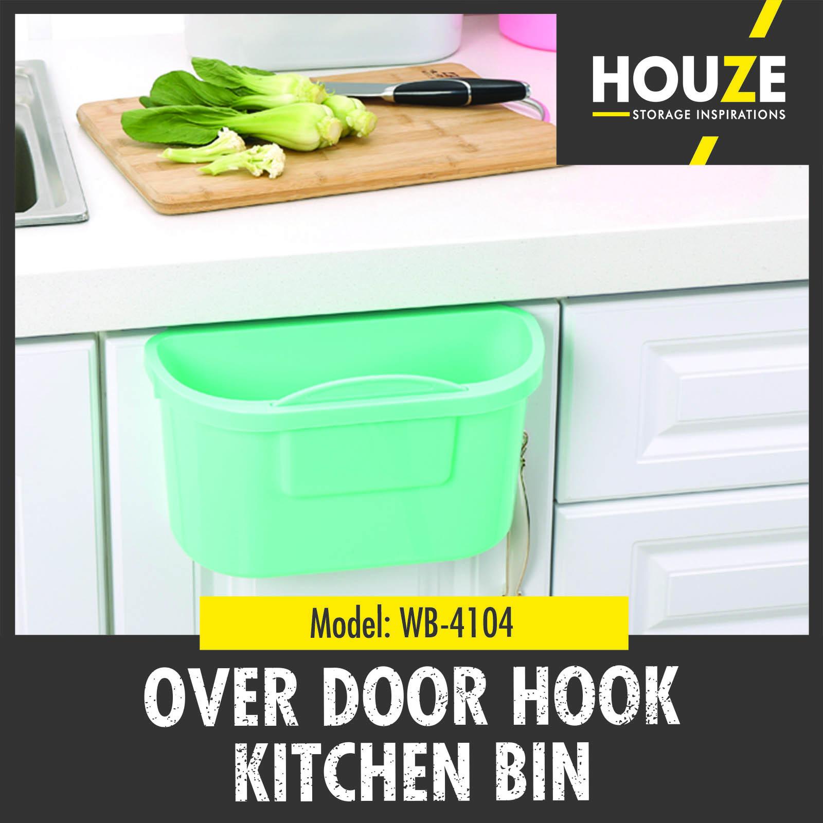 Qoo10 - Over Door Hook Kitchen Bin ♢ Durable ♢ 100% Virgin PP ...