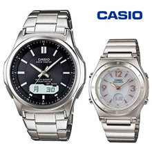 CASIO / Casio radio wave solar watch