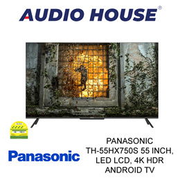 PANASONIC TH-55HX750S 55 inch LED LCD 4K HDR Android TV 3 YEARS WARRANTY BY PANASONIC