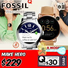 *GREAT SG SALES* FOSSIL Q TOUCHSCREEN Smart Watch Collection.Activity Tracking Local Warranty
