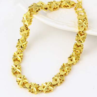 Qoo10 24k Real Gold Bracelets