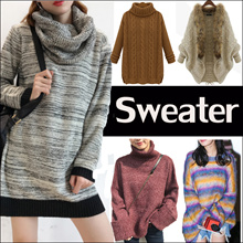 2018 New Arrival * Winter Sweater Thermal Jacket*Korean version of womens sweaters simple dress
