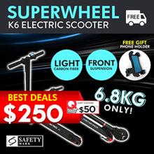 ⚡Crazy Price ⚡Superwheel light carbon fiber electric scooter