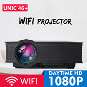 🌟 WIFI PROJECTOR UC46+ 🌟 The Cheapest 1080P Portable