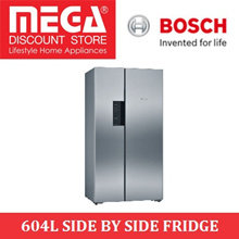 BOSCH KAN92VI35O 604L SIDE BY SIDE FRIDGE / LOCAL WARRANTY