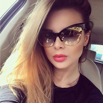 1eba97f29697 Newest Cat Eye Eyeglasses Frames Women Glasses Brand Designer Optical  Glasses Fashion UV400